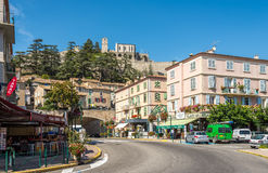 In the streets of Sisteron Stock Photography