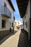 Streets of the small spanish own Morella. Royalty Free Stock Image
