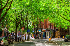 Streets in Soho Royalty Free Stock Photo