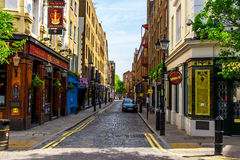 Streets in Soho Stock Photography