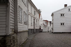 The streets of Stavanger. Norway. Stock Photography
