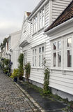 Streets of stavanger Royalty Free Stock Images