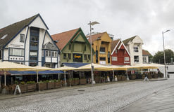 Streets of stavanger Royalty Free Stock Image