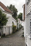 Streets of stavanger Stock Images