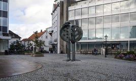 Streets of stavanger Stock Image