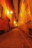 Streets of Stockholm Stock Photo
