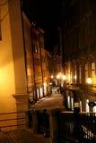 Streets of Stockholm. Stockholm at nigth stock image