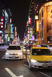 Streets of Taiwan royalty free stock photos