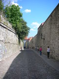 Streets of Tallin Royalty Free Stock Photography