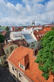 Streets of Tallinn Royalty Free Stock Images