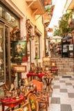 Streets of Taormina Stock Image