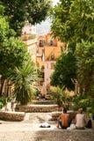 Streets of Taormina Royalty Free Stock Photos