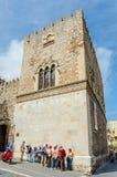 Streets of Taormina - Sicily, Italy Royalty Free Stock Photos