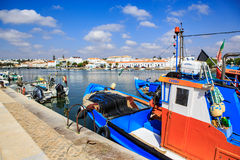 Streets of Tavira town Royalty Free Stock Photography