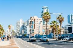 Streets of Tel Aviv Royalty Free Stock Photos