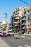 Streets of Tel Aviv Royalty Free Stock Photography