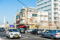 Streets of Tel Aviv Stock Photography