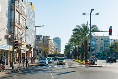Streets of Tel Aviv Stock Images