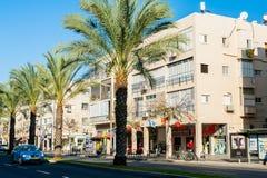 Streets of Tel Aviv Stock Photo