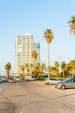 Streets of Tel Aviv Royalty Free Stock Photo