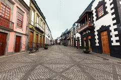 Streets of Teror Royalty Free Stock Images