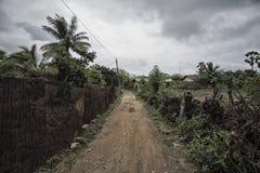 Streets in Thondaimanaru Sri Lanka royalty free stock image