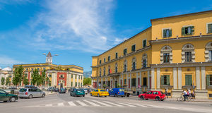 In the streets of Tirana. Stock Images