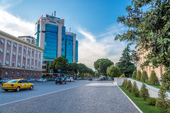 In the streets of Tirana. Royalty Free Stock Photos