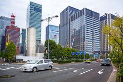 Streets of Tokyo city, Japan Stock Photography