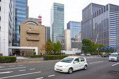 Streets of Tokyo city Royalty Free Stock Photo