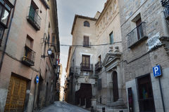 Streets of Toledo as of 5 centuries ago Royalty Free Stock Images