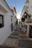 Streets of the town of Altea Royalty Free Stock Image