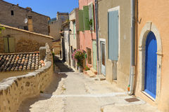 Streets in Provence town Stock Photo