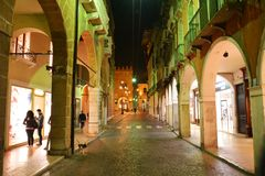 Streets in Treviso, Italy, Europe Stock Photography