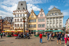 In the streets of the Trier. Royalty Free Stock Photos