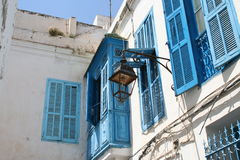 Streets of Tunis, capital of Tunisia Royalty Free Stock Photo