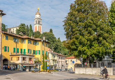 In the streets of Udine Stock Images