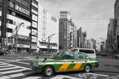Streets of Ueno district Stock Photography