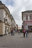 On the streets of Uzhgorod Royalty Free Stock Image