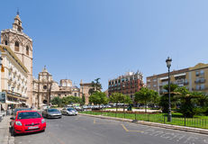 Streets of Valencia Royalty Free Stock Images