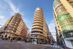 At the Streets of Valencia Royalty Free Stock Photo