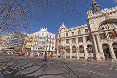 At the streets of Valencia. Royalty Free Stock Images