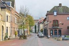On the streets of Valkenburg. Stock Photo