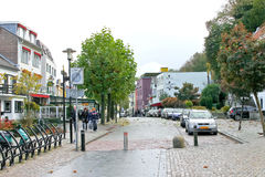 On the streets of Valkenburg. Stock Photos