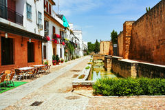 On the streets of Valladolid Royalty Free Stock Image