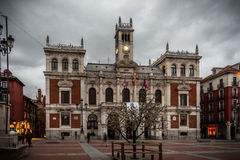 Streets Valladolid Stock Image