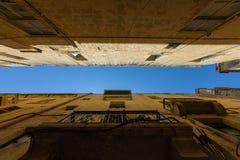 Streets of Valletta. The streets of Valletta - capital city of Malta Royalty Free Stock Photos