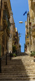 Streets of Valletta. The streets of Valletta - capital city of Malta Royalty Free Stock Photography