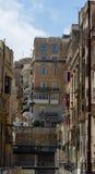 Streets of Valletta. The streets of Valletta - capital city of Malta Stock Photos