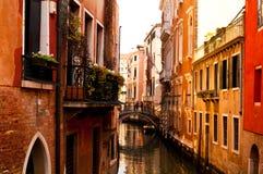 Streets of Venice Italy. Narrow streets of Venice Italy stock photo